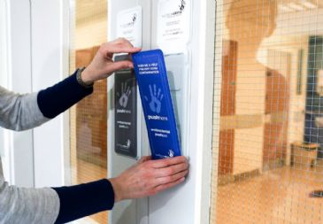Surfaceskins Self-Disinfecting Door Push Pads (Self-Cleaning)